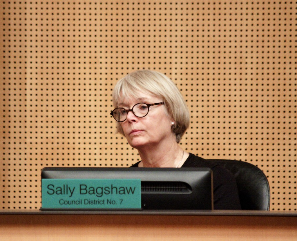 Council member Sally Bagshaw