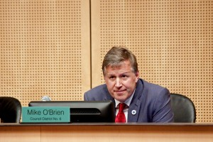 Council member Mike O'Brien