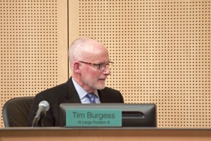 Council member Tim Burgess