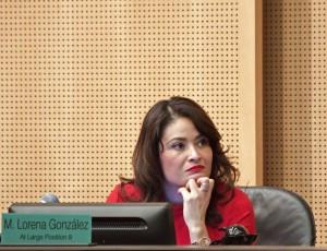Council member Lorena Gonzalez