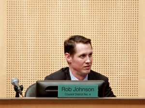 Council member Rob Johnson