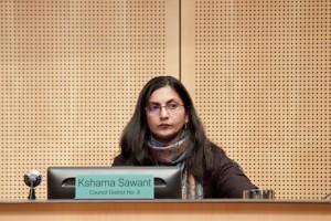 Council member Kshama Sawant