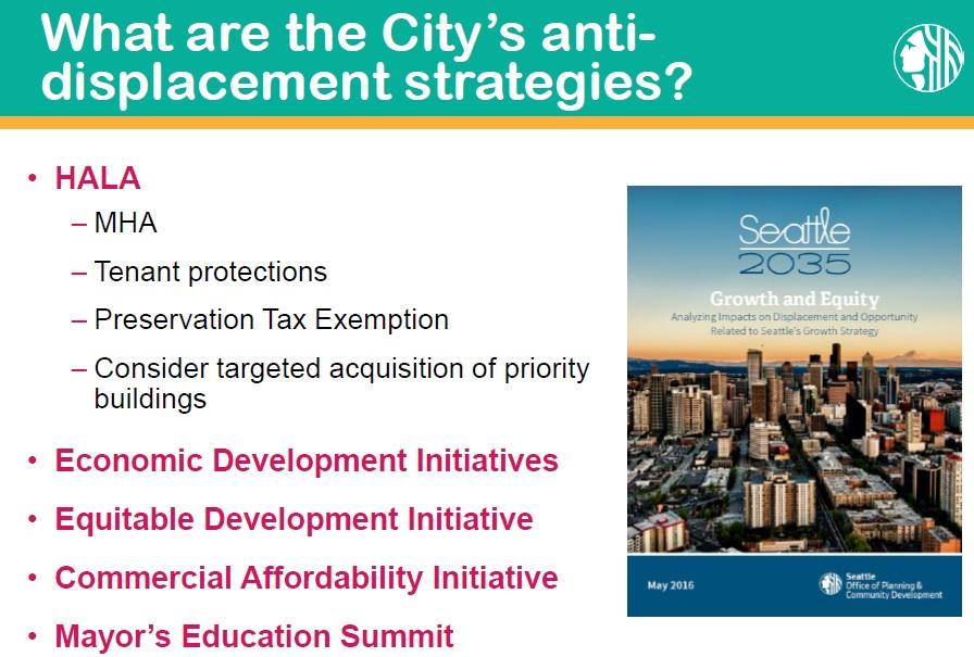 anti displacement strategies