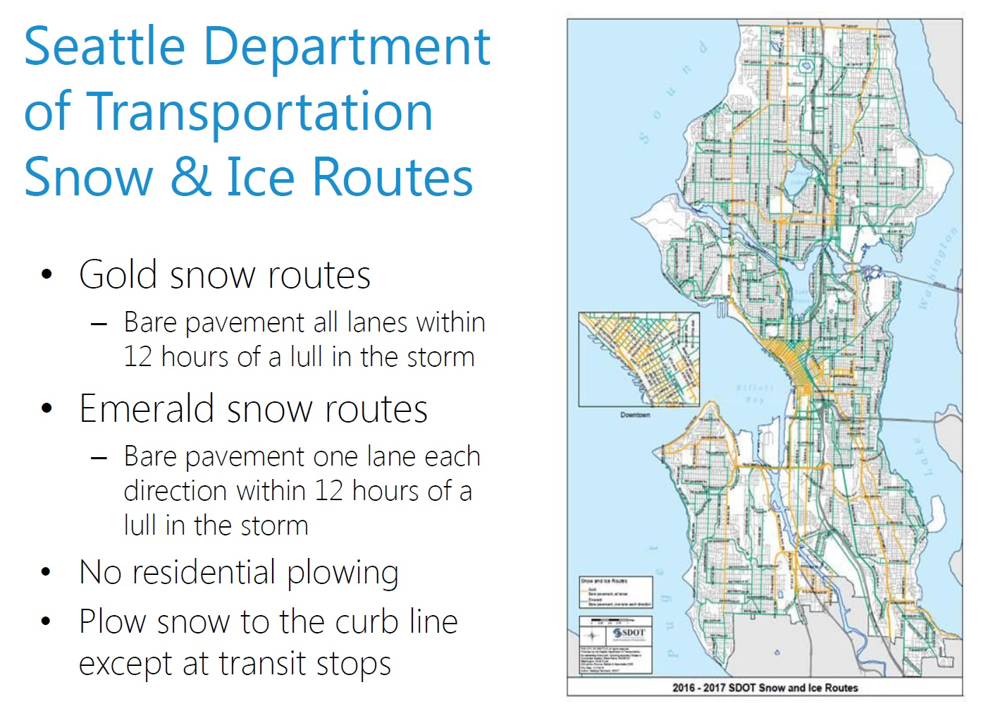 Seattle\'s Winter Weather Preparedness, and What You Should Do
