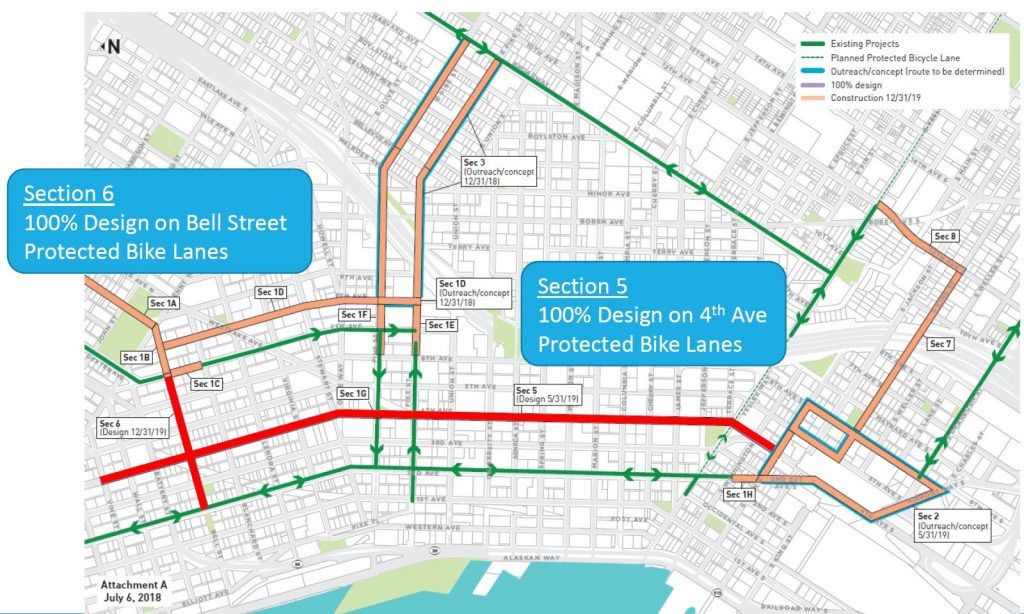 What's Next For Seattle's Downtown Bike Network?